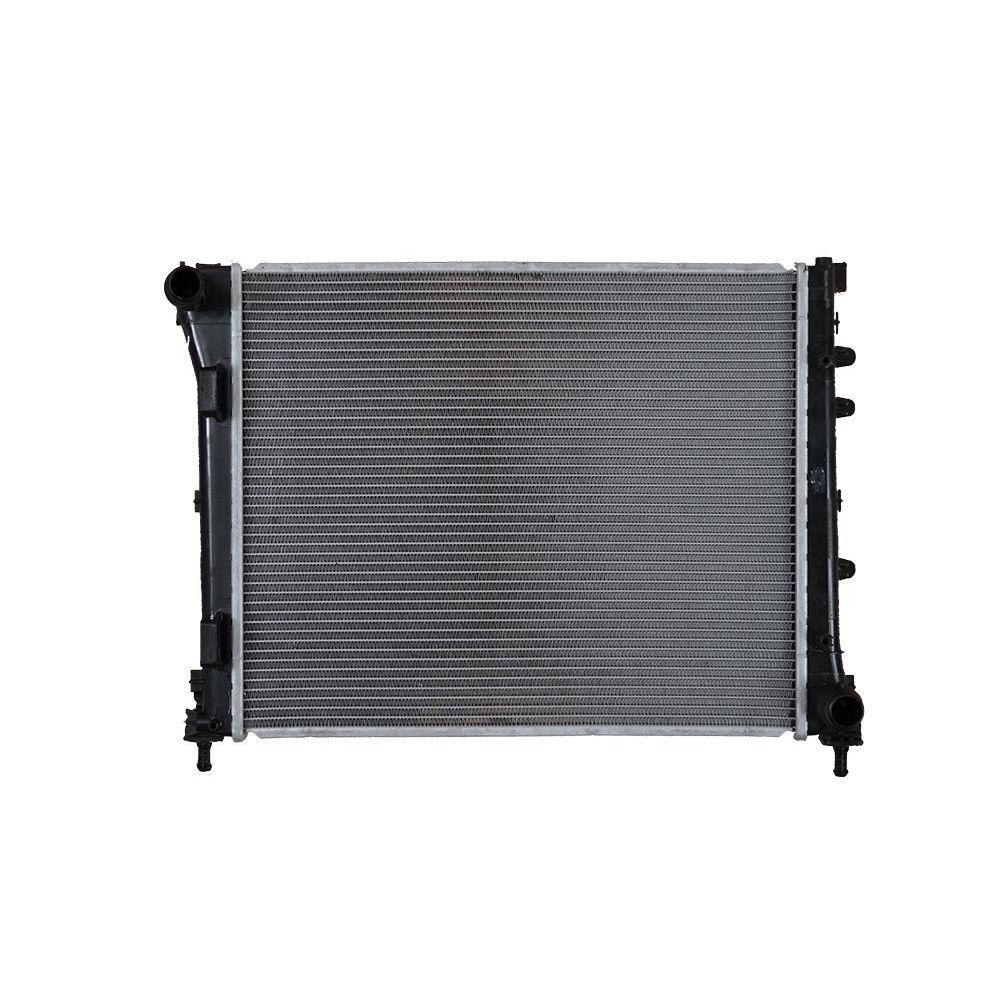 Radiator racire Fiat 500 (312), 07.2007-, Motorizare 1, 3 Multijet 70kw ; 1, 4 74kw Diesel/Benzina, tip climatizare Manual/Automatic, Cu/fara AC, cu conectori rapizi iesire, dimensiune 480x395x27mm, Cu lipire fagure prin brazare, DENSO