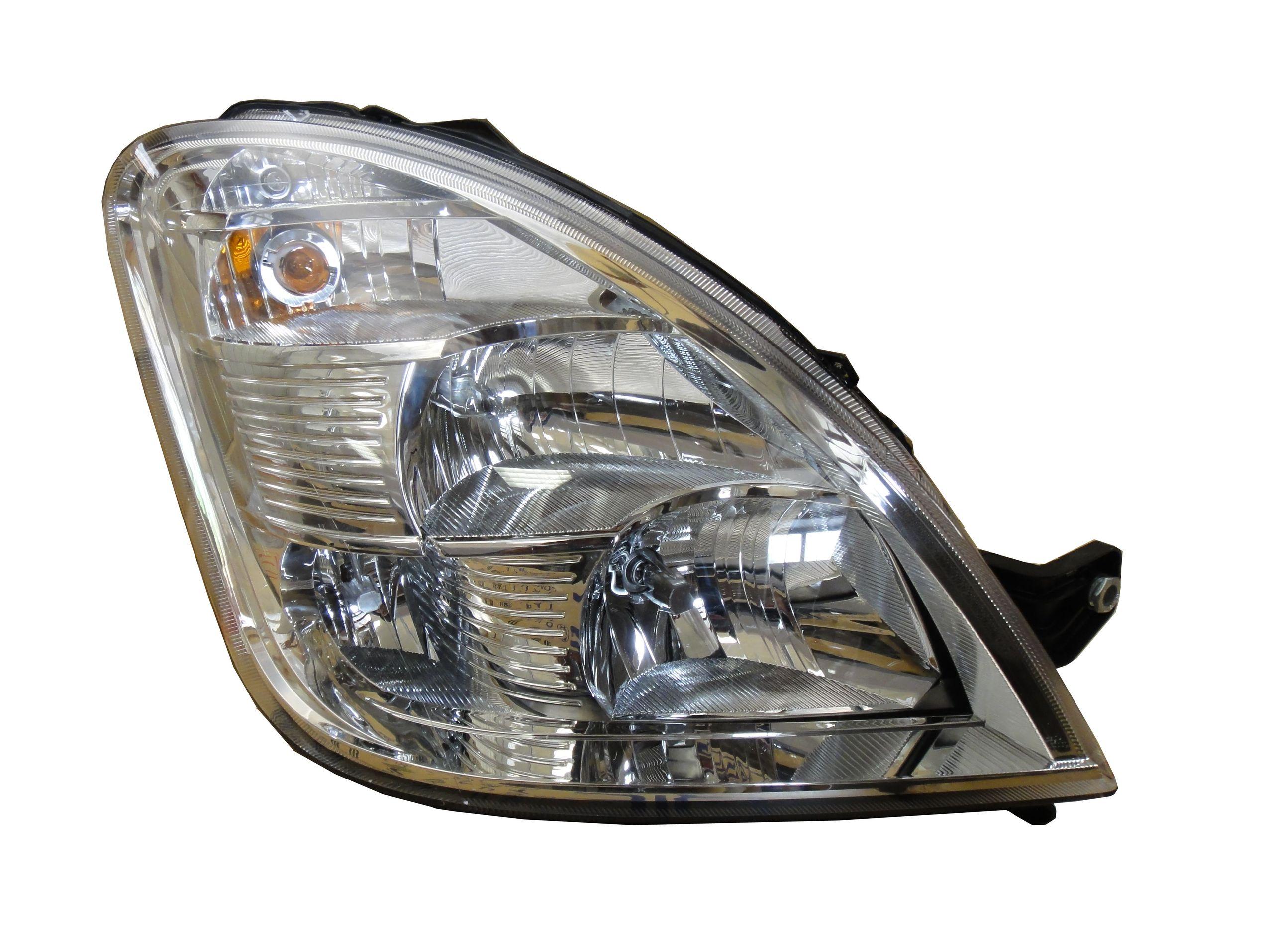 Far Iveco Daily, 2006-09.2011, Electric, tip bec H1+H1+H7, omologare ECE, cu motoras, Dreapta, marca AL Automotive