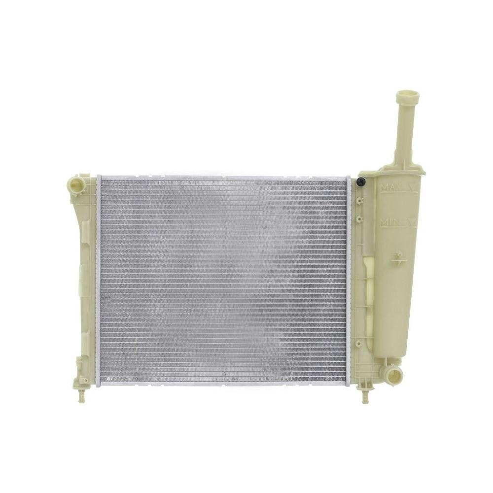 Radiator racire Fiat Panda (319), 2012-, Motorizare 1, 2 51kw Benzina, tip climatizare Manual, Cu/fara AC, cu conectori rapizi iesire, dimensiune 480x392x16mm, Cu lipire fagure prin brazare, Original (J.DEUS)