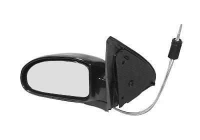 Oglinda exterioara Ford Focus (Daw/Dbw/Dnw/Dfw) 09.1998-11.2004 partea stanga View Max crom convex carcasa prevopsita grunduita reglare manuala prin cablu fara incalzire