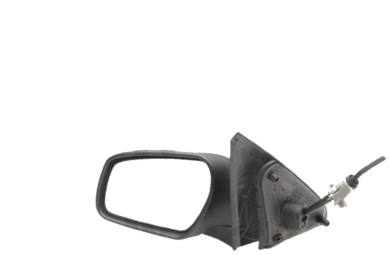 Oglinda exterioara Ford Mondeo 11.2003-03.2007 partea stanga crom asferica carcasa prevopsita grunduita reglare manuala prin cablu fara incalzire