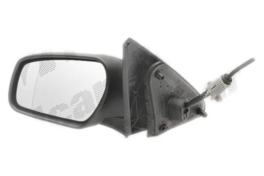 Oglinda exterioara Ford Mondeo (B4y/B5y/Bwy), 10.2003-03.2007, partea Dreapta, culoare sticla crom, sticla convexa, ajustare manuala