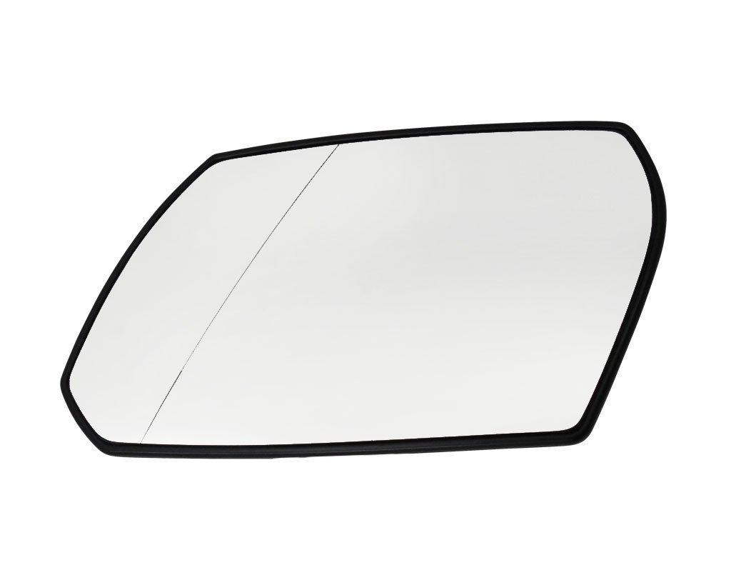 Geam oglinda Ford Mondeo (B4Y/B5Y/Bwy) 10.2000-10.2003 partea stanga crom asferica cu incalzire