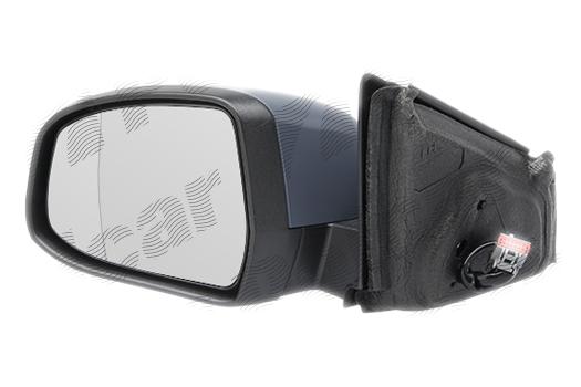 Oglinda exterioara Ford Mondeo (Ba7) 03.2007-03.2010 partea dreapta, crom asferica carcasa prevopsita grunduita reglare electrica cu incalzire, pliabila, cu memorie si l-pa perimetru