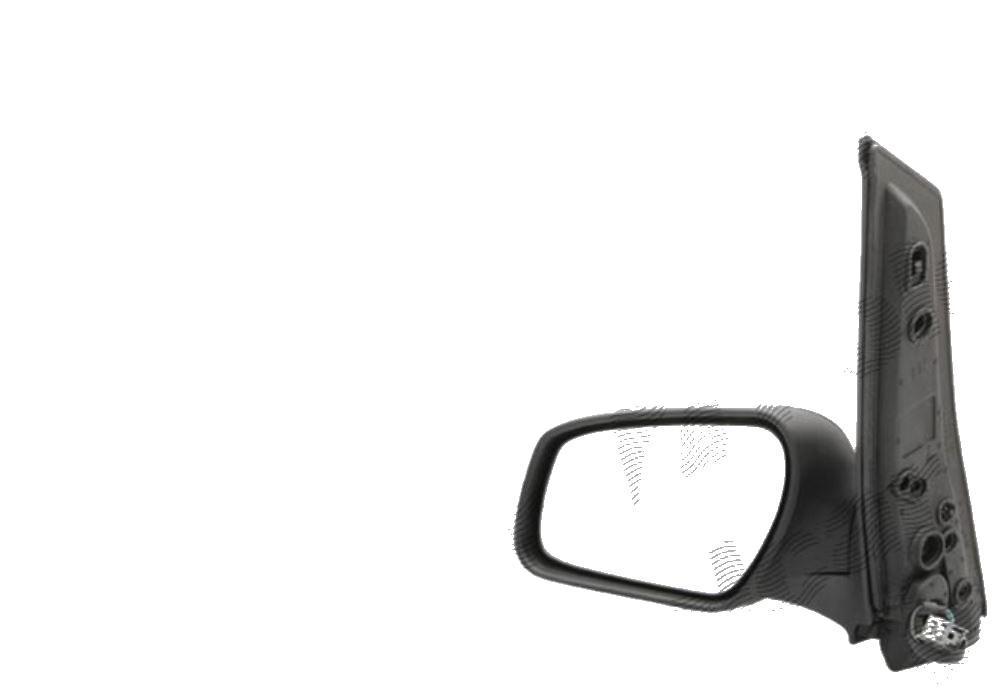Oglinda exterioara Ford C-Max 06.2007-12.2010 / Focus C-Max (C214) 10.2003-06.2007 (NU pt versiune Titanium), partea dreapta View Max crom convex carcasa prevopsita grunduita reglare electrica cu incalzire