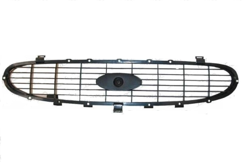 Grila radiator Ford Transit (Ve83) 1996-07.2000, interior, grunduit, Cross Hatch type