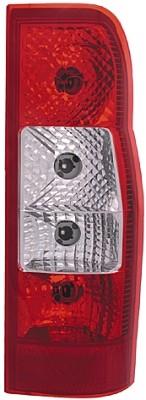 Stop spate lampa Ford Transit/Tourneo (V347/8), 05.06-04.13 Furgon, spate, omologare ECE, fara suport bec, Stanga