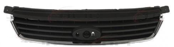 Grila radiator Ford Kuga (Dm2), 03.2008-03.2013, 1497839, 325205, cu ornament crom