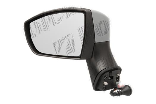 Oglinda exterioara Ford Kuga (Dm2) 03.2008-03.2013, stanga, cu semnalizare asferica carcasa prevopsita grunduita reglare electrica cu incalzire
