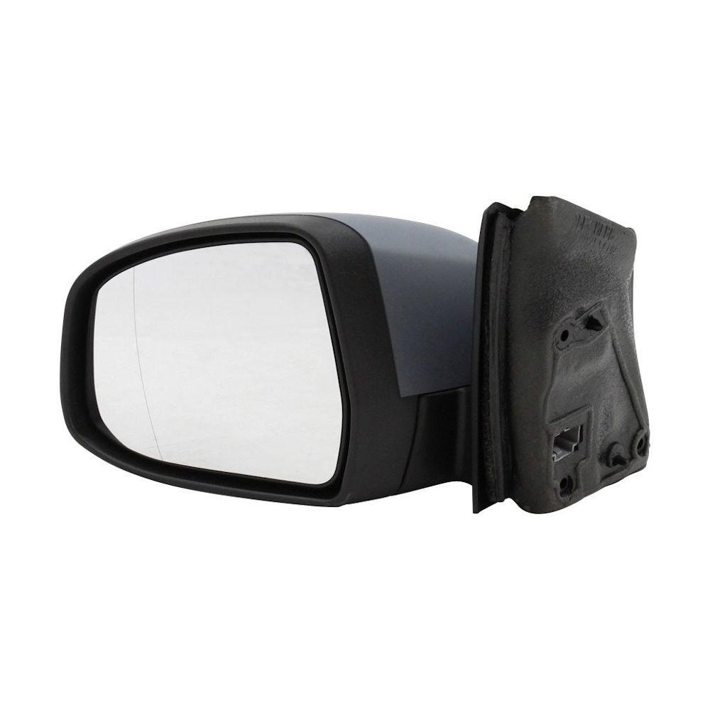Oglinda exterioara Ford Focus 3 12.2010-2017 partea stanga View Max crom asferica carcasa prevopsita grunduita reglare electrica cu incalzire 8 pini, pliabila