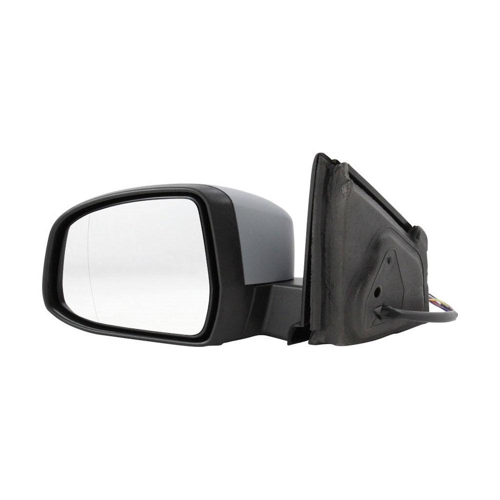 Oglinda exterioara Ford Mondeo 09.2010-02.2015 partea stanga crom asferica carcasa prevopsita grunduita reglare electrica cu incalzire 32D1519E, cu semnalizare si lampa perimetru, pliabila, memorie si detectie unghi mort