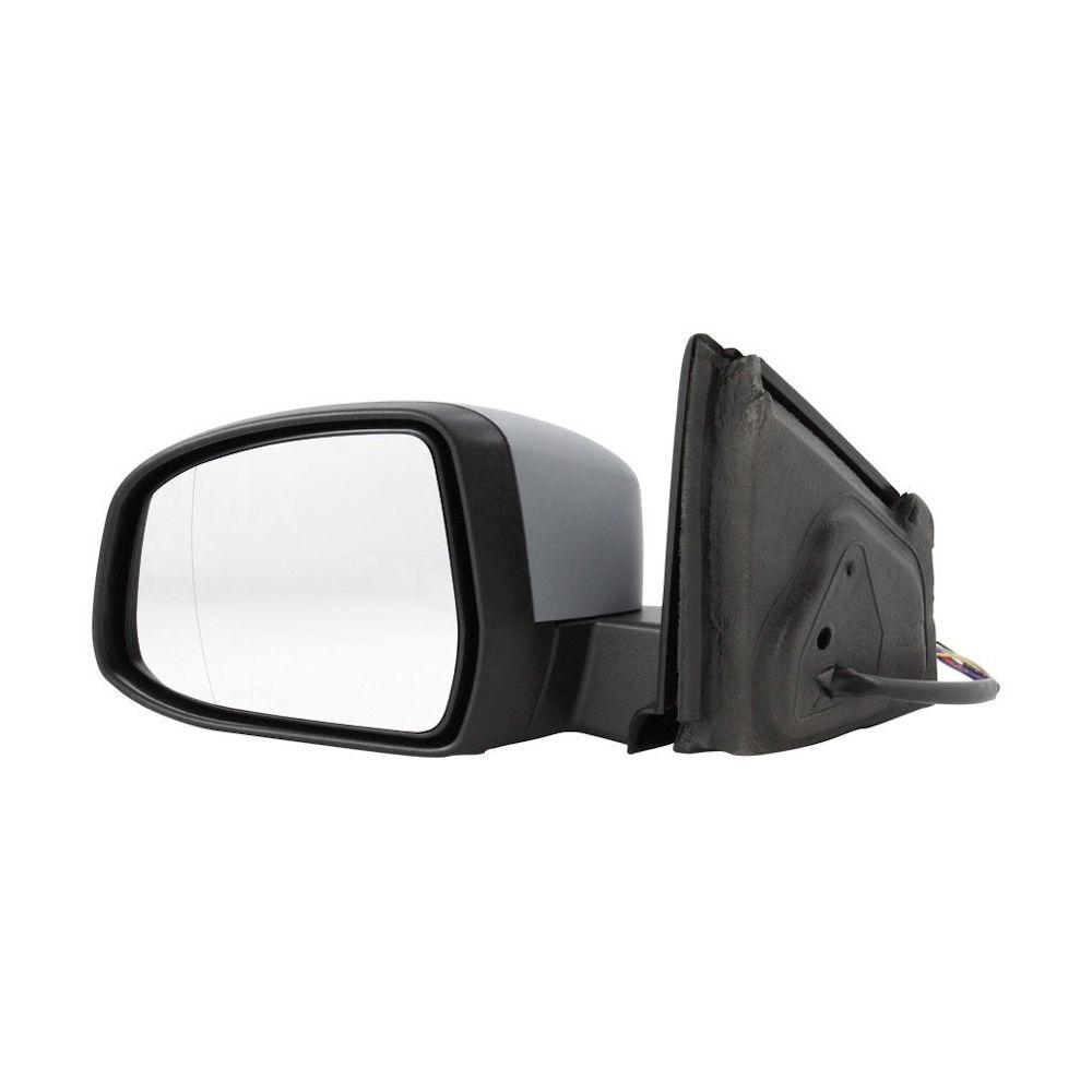 Oglinda exterioara Ford Mondeo 09.2010-2015 partea dreapta crom asferica carcasa prevopsita grunduita reglare electrica cu incalzire, cu semnalizare si lampa perimetru, pliabila, memorie si detectie unghi mort