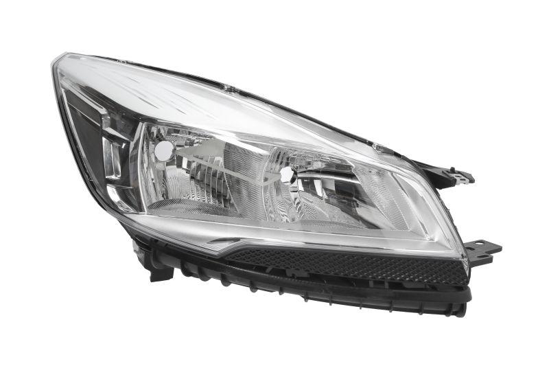 Far Ford Kuga, 01.2013-, Electric, tip bec H15+H7, omologare ECE, cu motoras, Dreapta, marca Depo