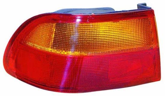 Stop spate lampa Honda Civic Coupe (Eg/Ej), 10.91-12.95, Honda Civic Sedan (Eg/Eh9), 10.91-10.95, spate, fara omologare, exterior, Stanga