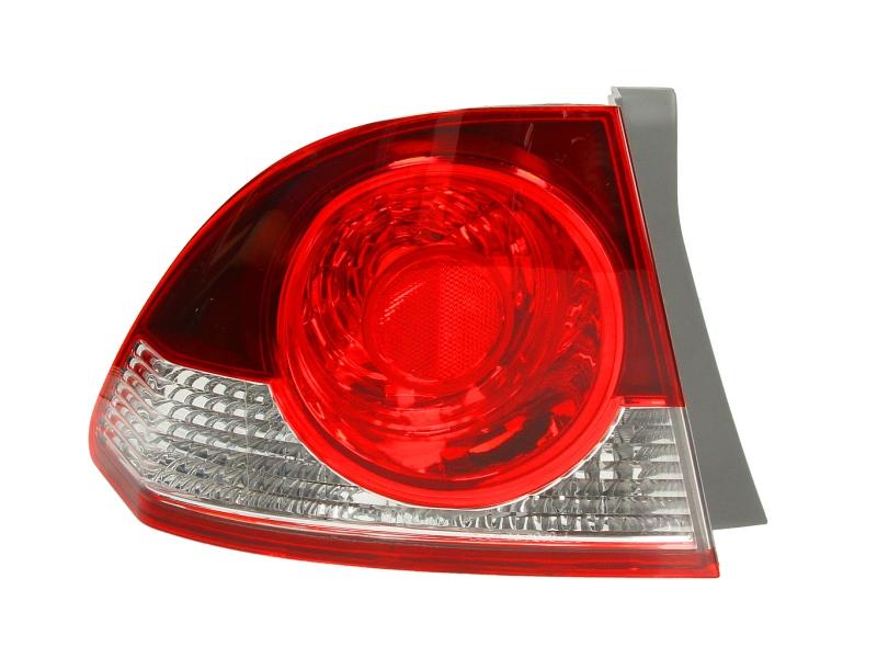 Stop spate lampa Honda Civic (Fd) Sedan, 10.05-08, spate, omologare ECE, cu suport bec, exterior, Stanga