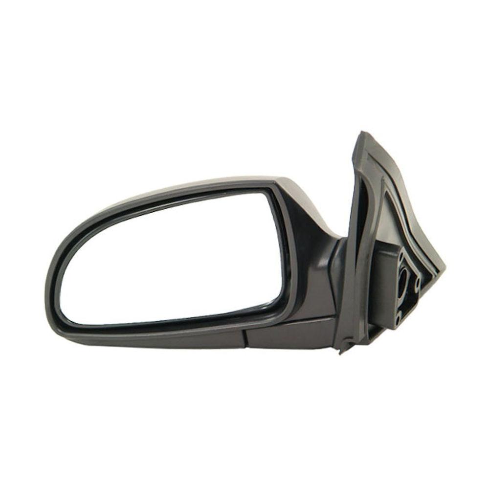 Oglinda exterioara Hyundai Accent (Lc) 01.2001-12.2003 partea stanga crom convex texture reglare manuala prin cablu fara incalzire