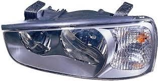 Far Hyundai ELantra (XD) 06.2000-12.2003 marca DEPO partea Stanga cu bec H1+H7