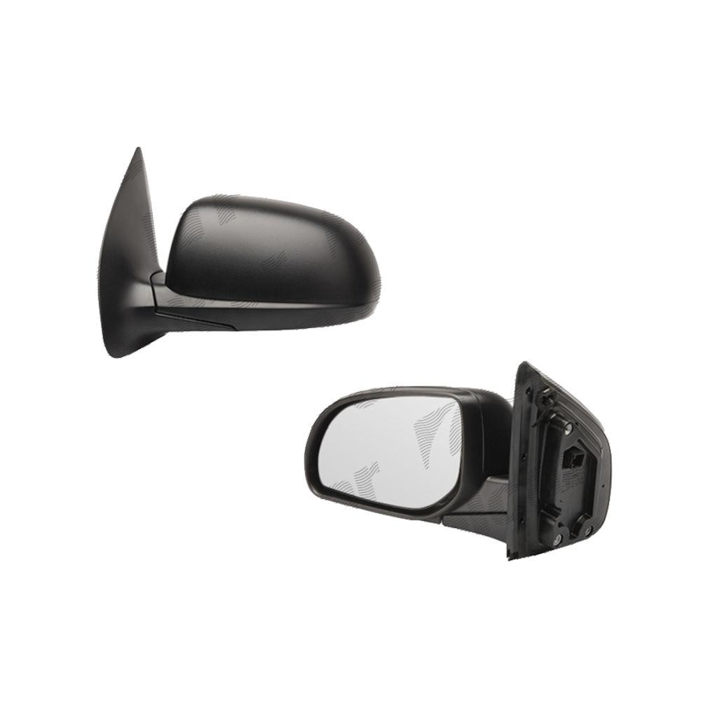 Oglinda exterioara Hyundai I20 (Pb) 2008-2014, Getz (TB) 09.2005-12.2011, Stanga, Crom, electrica, Cu incalzire, carcasa neagra, Convex