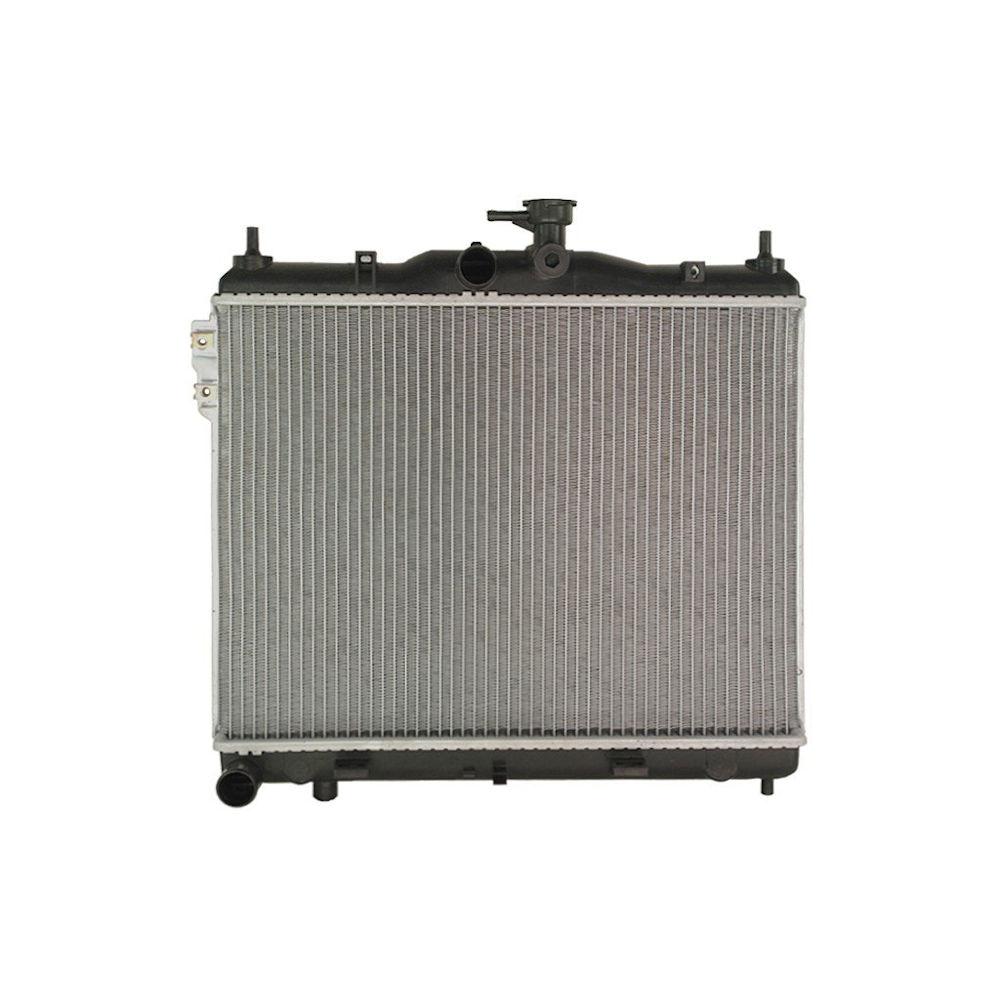 Radiator racire Hyundai Getz (Tb), 08.2002-02.2009, Motorizare 1, 4 71kw; 1, 5 73kw; 1, 6 77/78kw Benzina, tip climatizare Manual, Cu/fara AC, dimensiune 495x373x16mm, Cu lipire fagure prin brazare