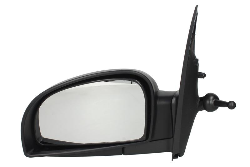 Oglinda exterioara Hyundai Getz (Tb) 05.2002-09.2005 partea stanga View Max crom convex grunduita partial reglare manuala prin cablu fara incalzire