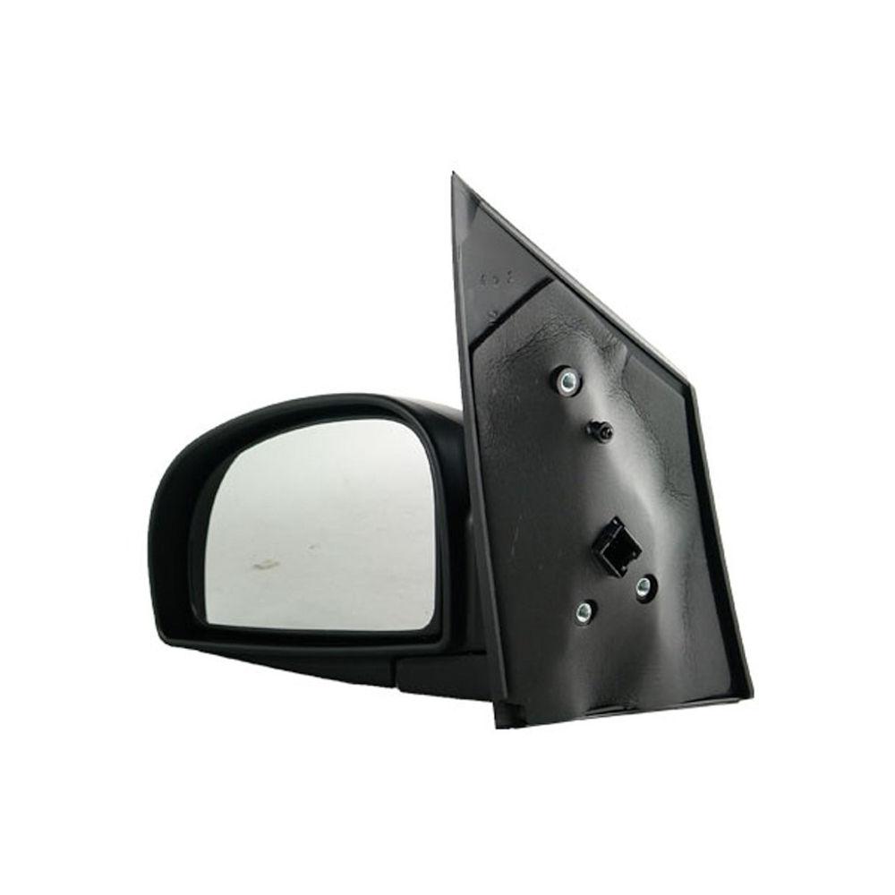 Oglinda exterioara Hyundai Getz (Tb) 05.2002-09.2005 partea stanga crom convex grunduita partial reglare electrica fara incalzire, cu 3 pini