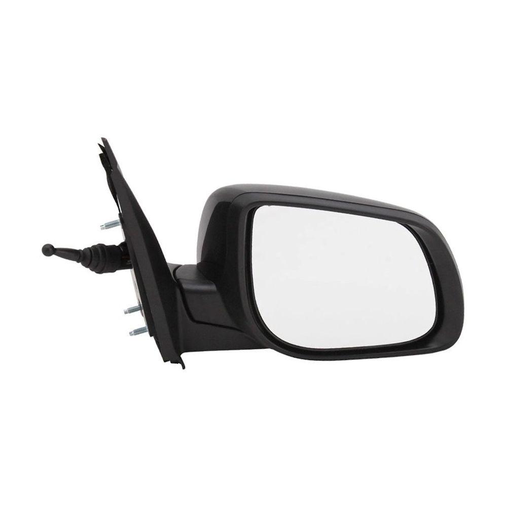 Oglinda exterioara Kia Picanto 06.2011- Partea Stanga Crom Convex Manuala Prin Cablu Fara Incalzire