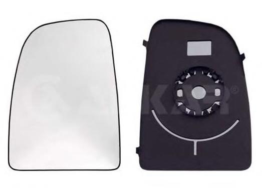Geam oglinda Kia Picanto 06.2011- Partea Dreapta Convex Cu Incalzire