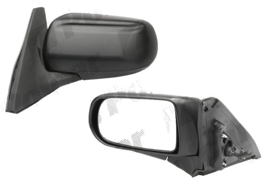 Oglinda exterioara Mazda 323 (Bj) 07.1998-09.2003, Mazda 323F 09.1998-09.2003 partea stanga View Max crom convex texture reglare parghie fara incalzire