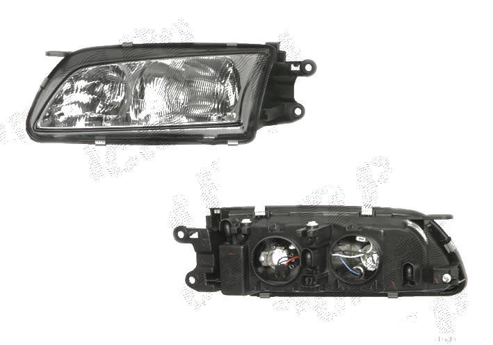 Far Mazda 626 01.2001-05.2002 DEPO dreapta fata, reglaj manual, tip bec H1+H7