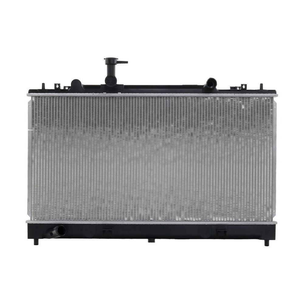 Radiator racire Mazda 6 (Gg/Gy), 06.2002-09.2007, Motor 2.0 Mzr-Cd 89/100/105kw; 2, 3 122kw Diesel/Benzina, tip climatizare Manual, Cu/fara AC, diametru intrare/iesire 31, 5/31, 5mm, tip Calsonic, dimensiune 738x375x16mm, Cu lipire fagure prin brazare