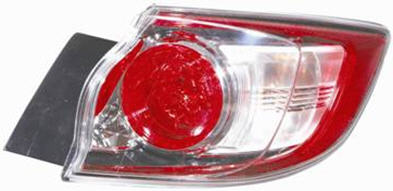Stop spate lampa Mazda 3 Hatchback 07.2009- TYC partea Dreapta exterior