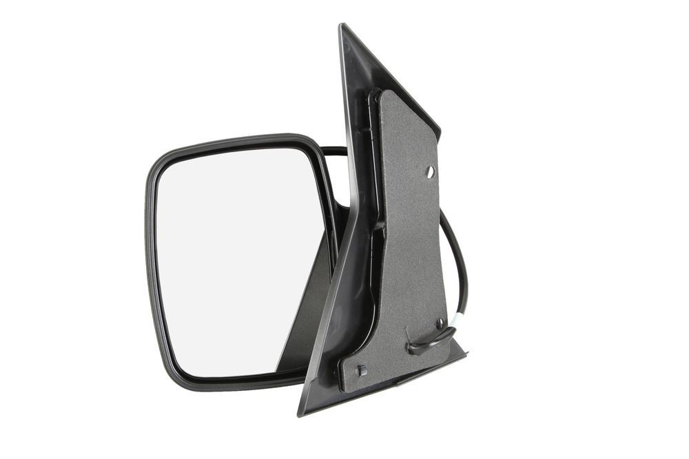Oglinda exterioara Mercedes Vito (W638) 02.1996-01.2003 partea stanga, crom convex carcasa neagra reglare electrica cu incalzire