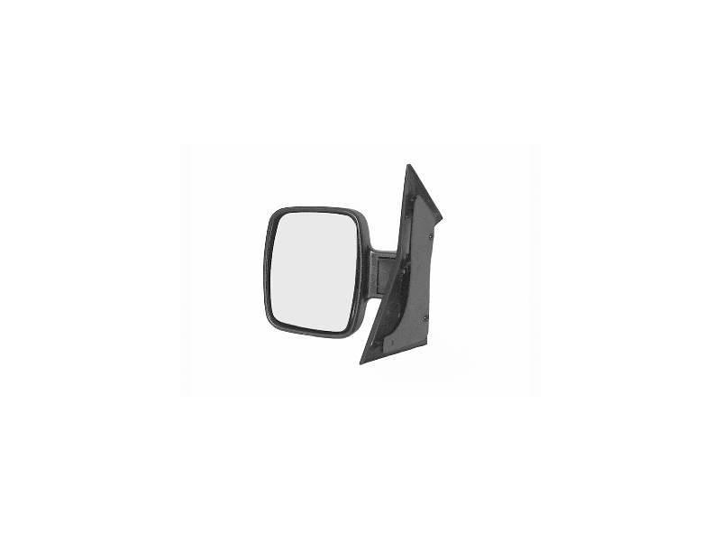 Oglinda exterioara Mercedes Vito (W638) 02.1996-01.2003 partea dreapta crom convex carcasa neagra reglare manuala fara incalzire