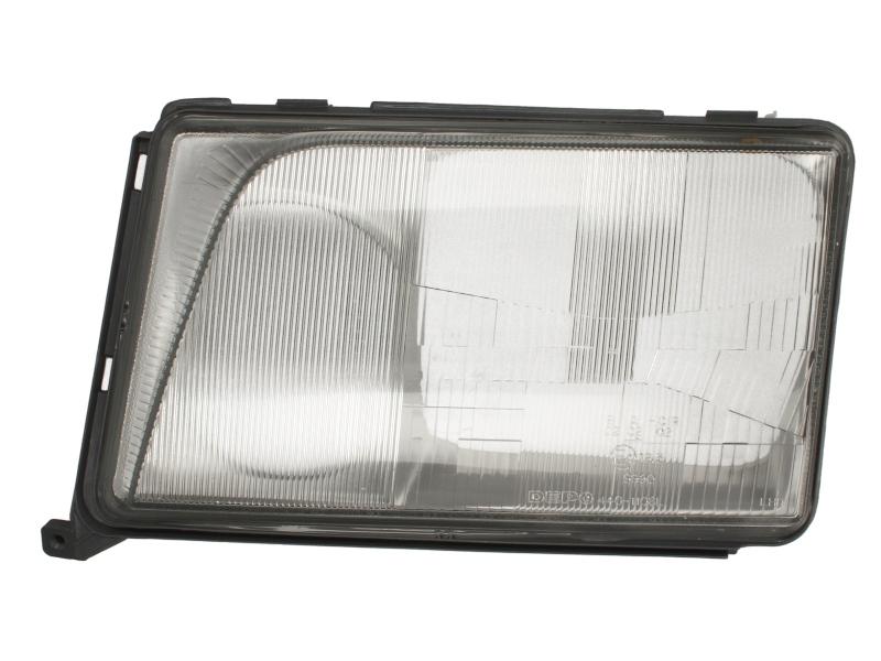 Dispersor sticla far Mercedes Clasa E W124 (Sedan/Coupe/Cabrio/Combi) 1993-06.1996 AL Automotive lighting partea Stanga