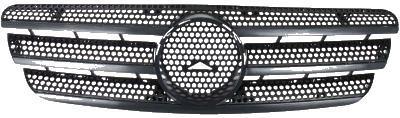 Grila radiator Mercedes Clasa ML (W163), 02.1998-07.2005, negru