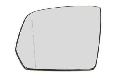 Geam oglinda Mercedes Clasa ML (W164), 07.2009-11.2011, partea Stanga, culoare sticla crom, sticla asferica, cu incalzire