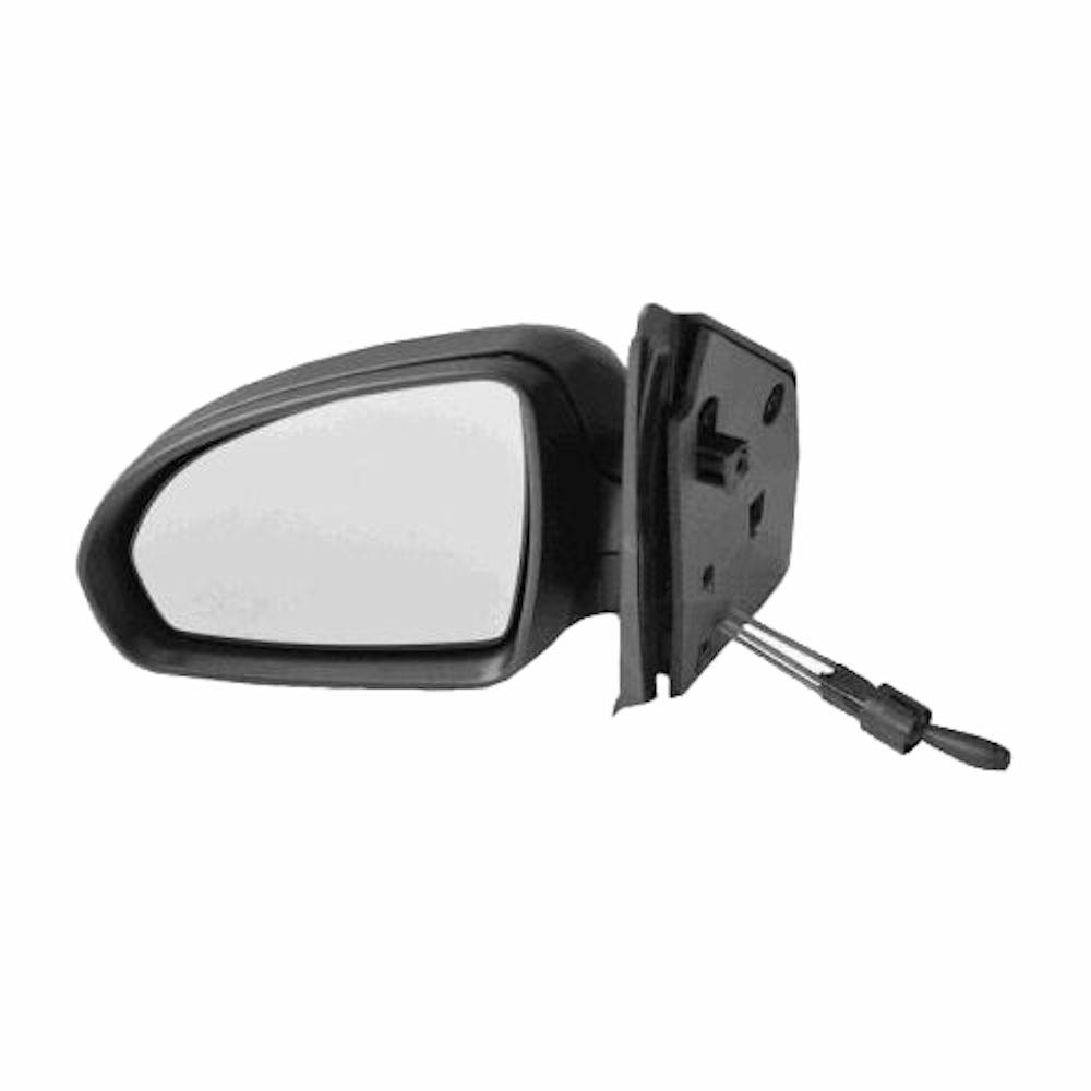 Oglinda exterioara Smart Fortwo (451) Coupe/Cabrio 01.2007-12.2014 Partea Stanga Convex, carcasa neagra, cu cablu de reglare