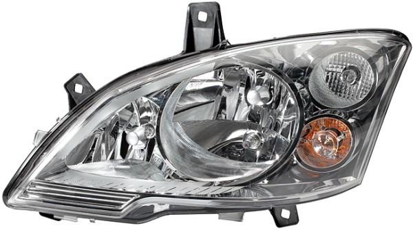 Far Mercedes Vito/ Viano (W639), 10.2010-, Electric, tip bec H7+H7+H7, omologare ECE, cu motoras, cu lumini de zi, Stanga, marca DEPO