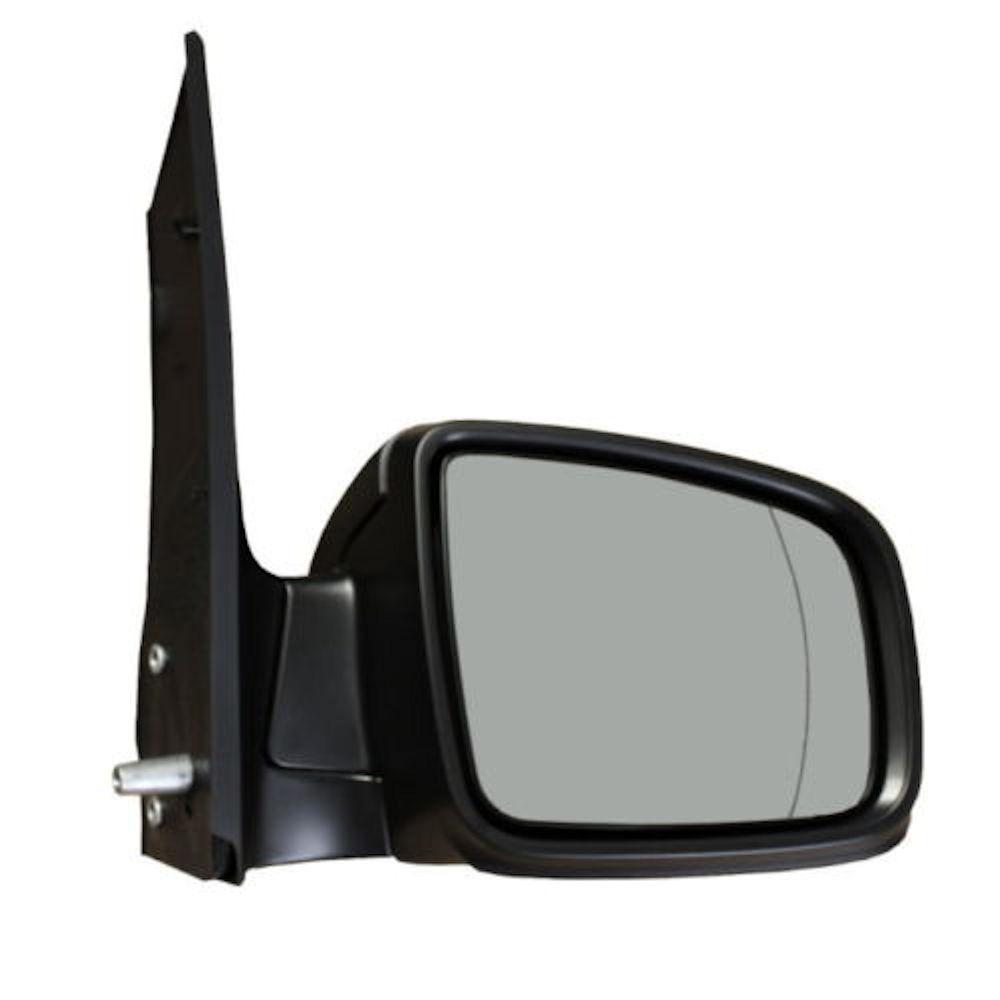 Oglinda exterioara Mercedes Vito/ Viano (W639) 10.2010-2014 partea dreapta View Max crom asferica carcasa neagra reglare manuala fara incalzire
