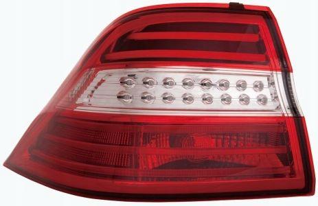 Stop spate lampa Mercedes Clasa ML (W166), 11.11-09.15, spate, omologare ECE, fara suport bec, cu led, exterior, Stanga
