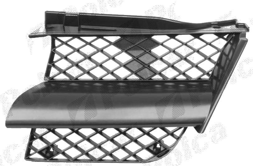 Grila radiator Mitsubishi Outlander (Cu0W), 05.2003-03.2007, dreapta, negru