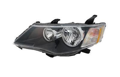 Far Mitsubishi Outlander (Cw0) 03.2007-10.2009, Stanga, tip bec Hb3+Hb4, reglare electrica, ECE, culoare negru, Depo