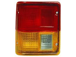 Stop spate lampa Mitsubishi Pajero/Montero (L040) 1982-1992, spate, fara omologare, fara suport bec, Stanga