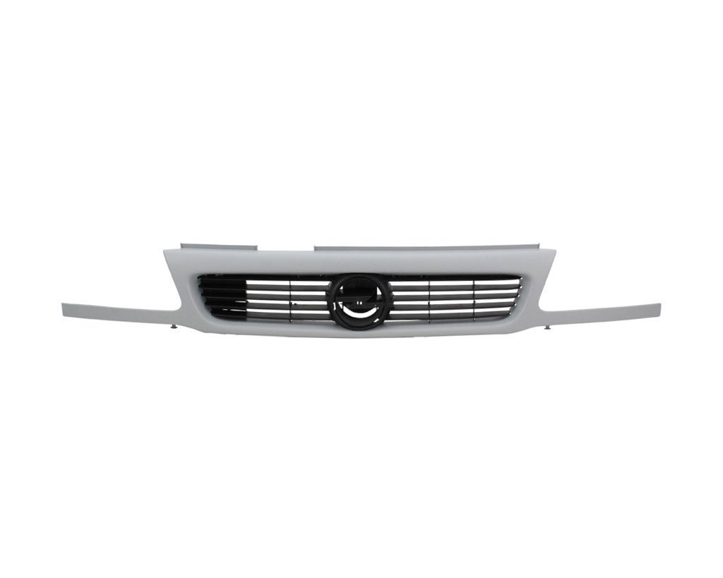 Grila radiator Opel Astra F 1994-2002, cod 1320051, negru / primer, fara emblema