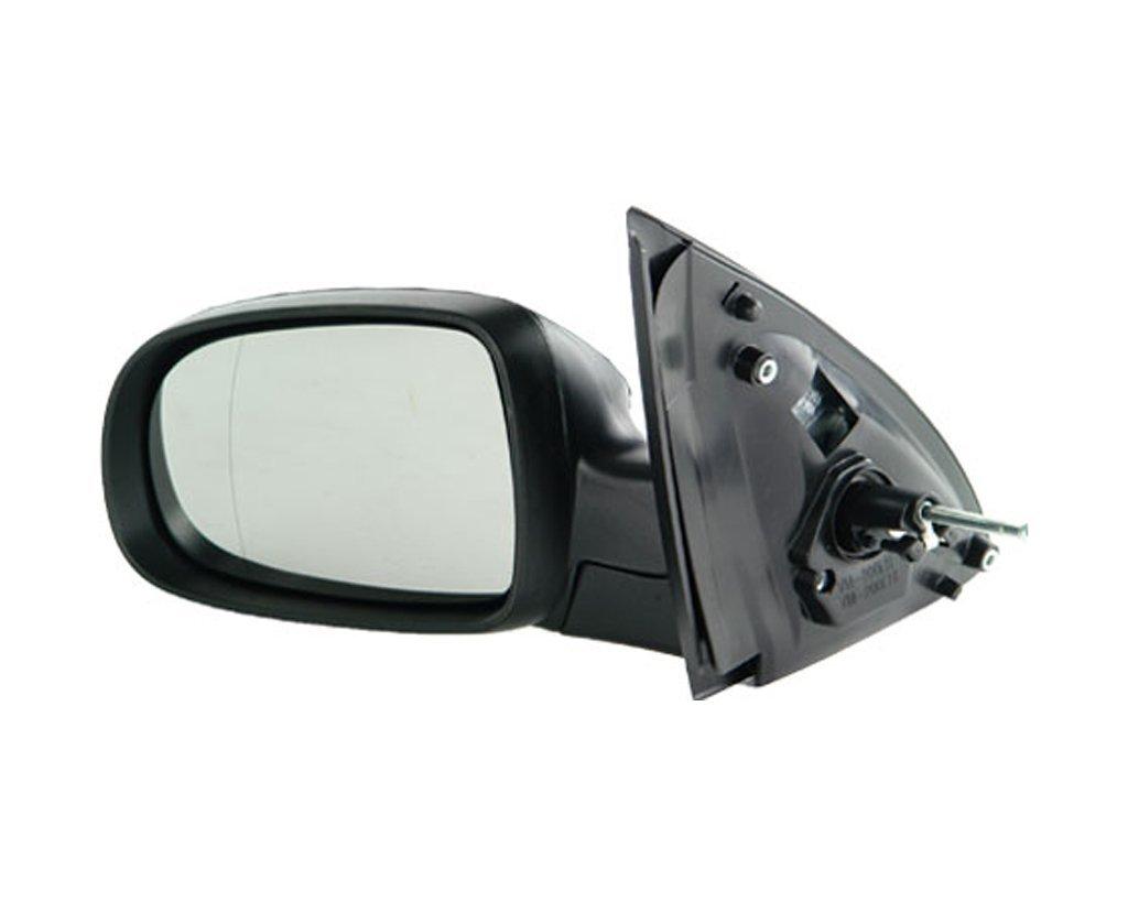 Oglinda exterioara Opel Corsa C, 07.2000-10.2003, Opel Corsa C, 07.2000-10.2003, Opel Corsa C, 10.2003-10.2010, partea Stanga, culoare sticla crom, sticla asferica, cu carcasa neagra, ajustare manuala