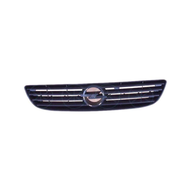 Grila radiator Opel Zafira, 01.1999-2002, negru, 556005