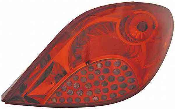Stop spate lampa Peugeot 207 Hatchback (W) 05.2006-06.2009 VISTEON partea Dreapta