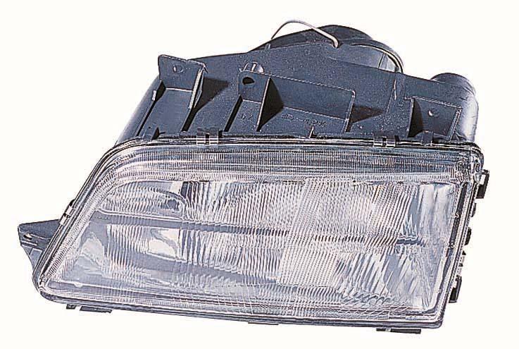 Far Peugeot 405 (Sedan + Combi) 07.1987-12.1997 DEPO partea Stanga, tip bec H1+H4 manual/hidraulic/electric