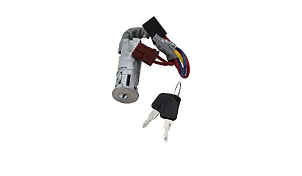 Contact cheie pornire Peugeot 405 (15b/15e/4b/4e), 06.1992-12.1997, cu chei, cu corpul de blocare a aprinderii