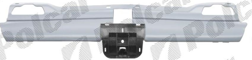Grila radiator Peugeot 406 (8), (Sedan + Combi) 10.1995-03.1999, grunduit